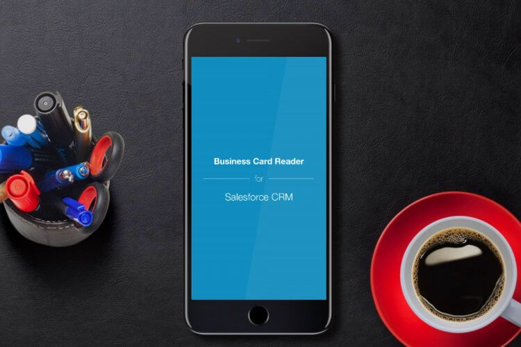 Business card reader for salesforce ios version on app store awesome news for salesforce crm users reheart Gallery