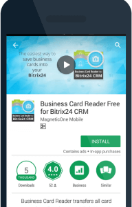 How to turn your business cards into bitrix24 leads and contacts this is an overview of how you can combine bitrix24 and our business card reader to easily create and save new leads or contacts into your crm system reheart Gallery