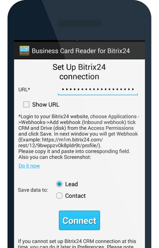 How To Turn Your Business Cards Into Bitrix24 Leads and