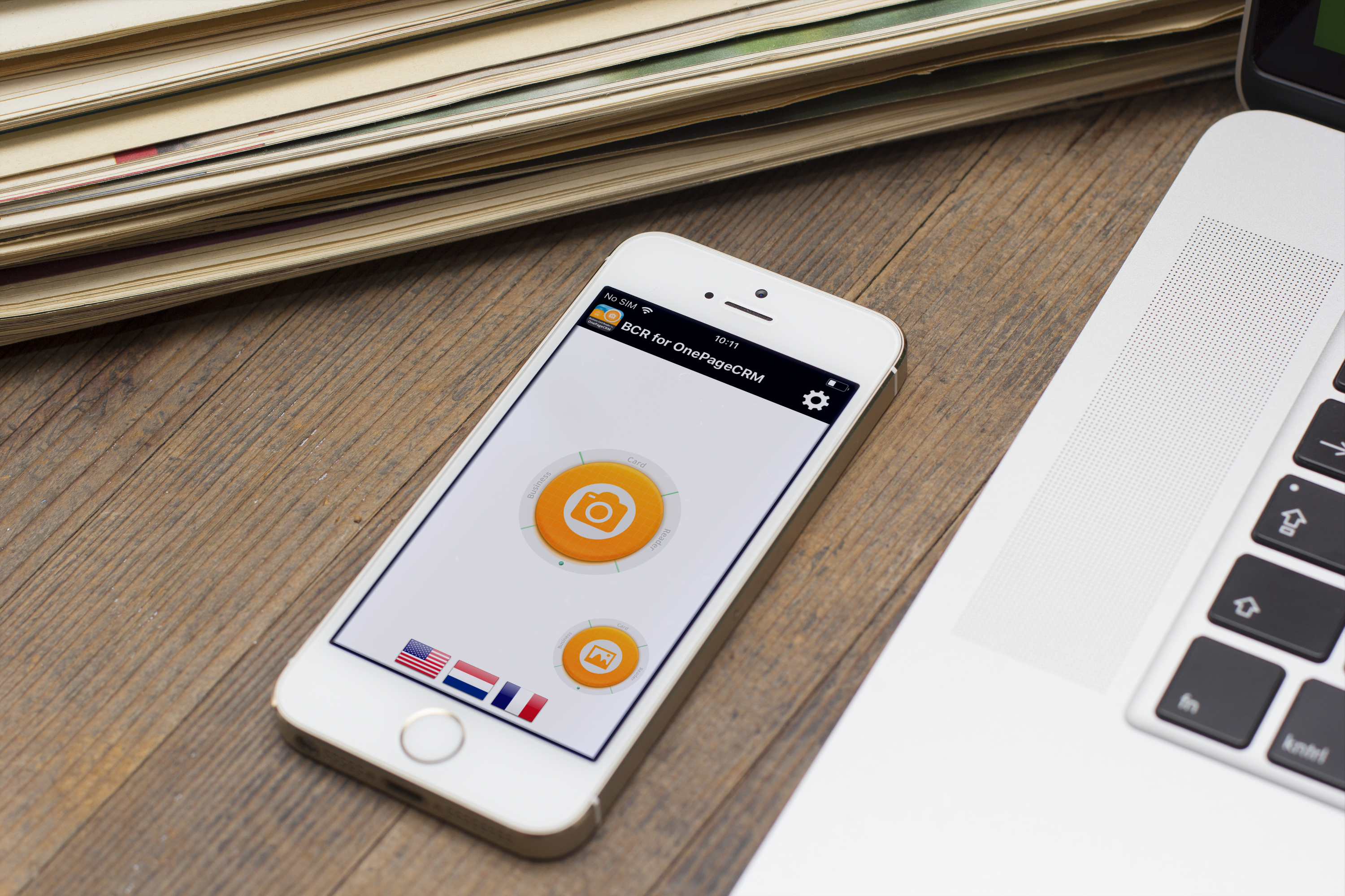 Onepagecrm Gets New Ios Integration Of Business Card Reader
