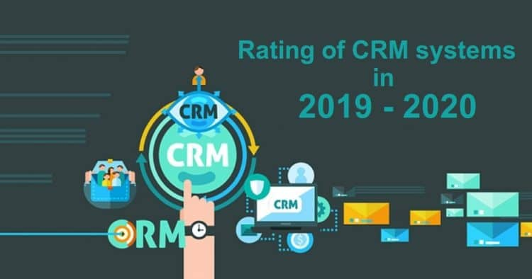 Rating of CRM Systems in 2020