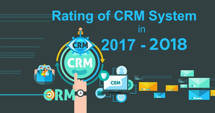 Rating of CRM Systems in 2018