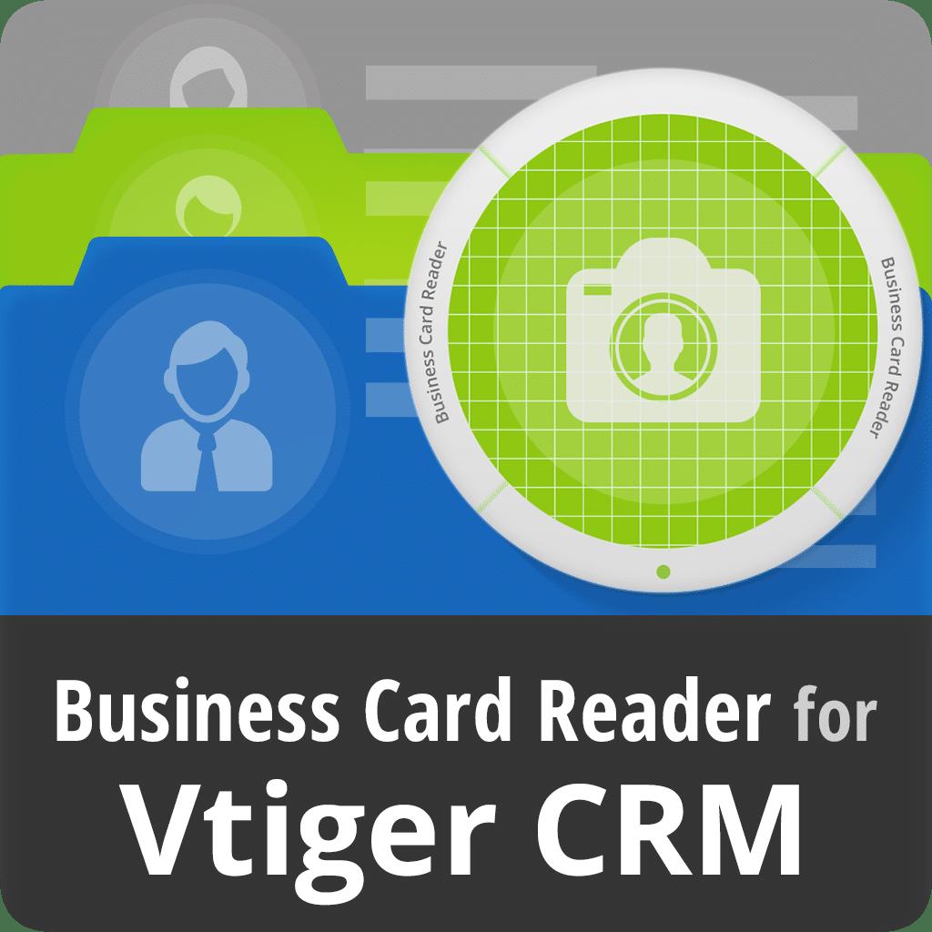 Business Card Reader for Vtiger CRM - MagneticOne MobileWorks