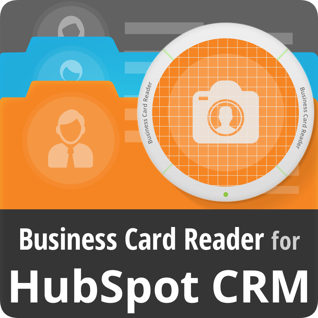 Business Card Reader For Hubspot Crm Scan Business Cards Effectively