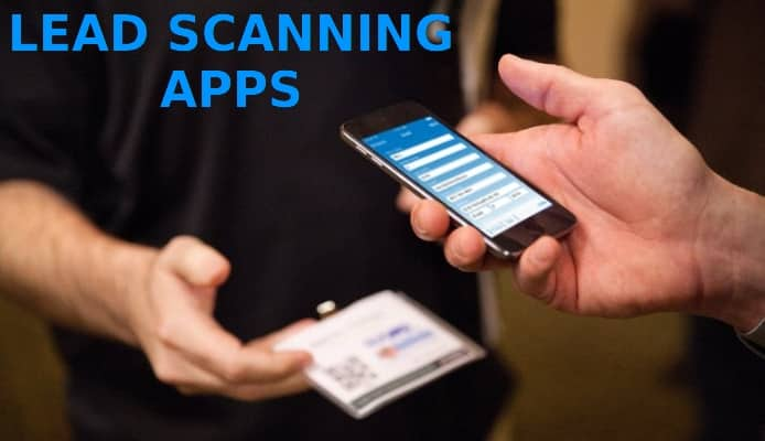 Lead scanning apps